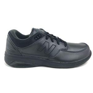 New Balance 813 Men Black Walking Shoes 4E MW813BK